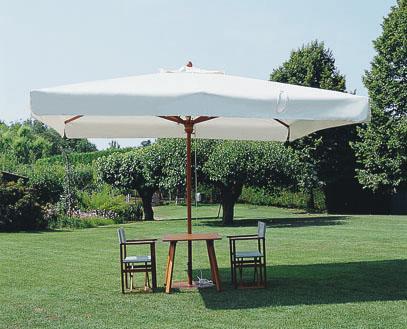 Grand parasol bois exotique Palladio Telescopic SCOLARO