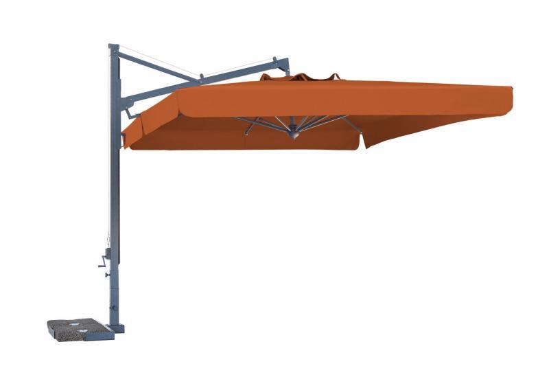 Top of the range cantilever parasol Galileo Dark SCOLARO