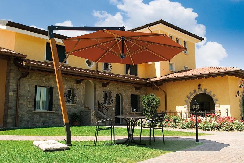 360 degree umbrella Palladio Braccio SCOLARO