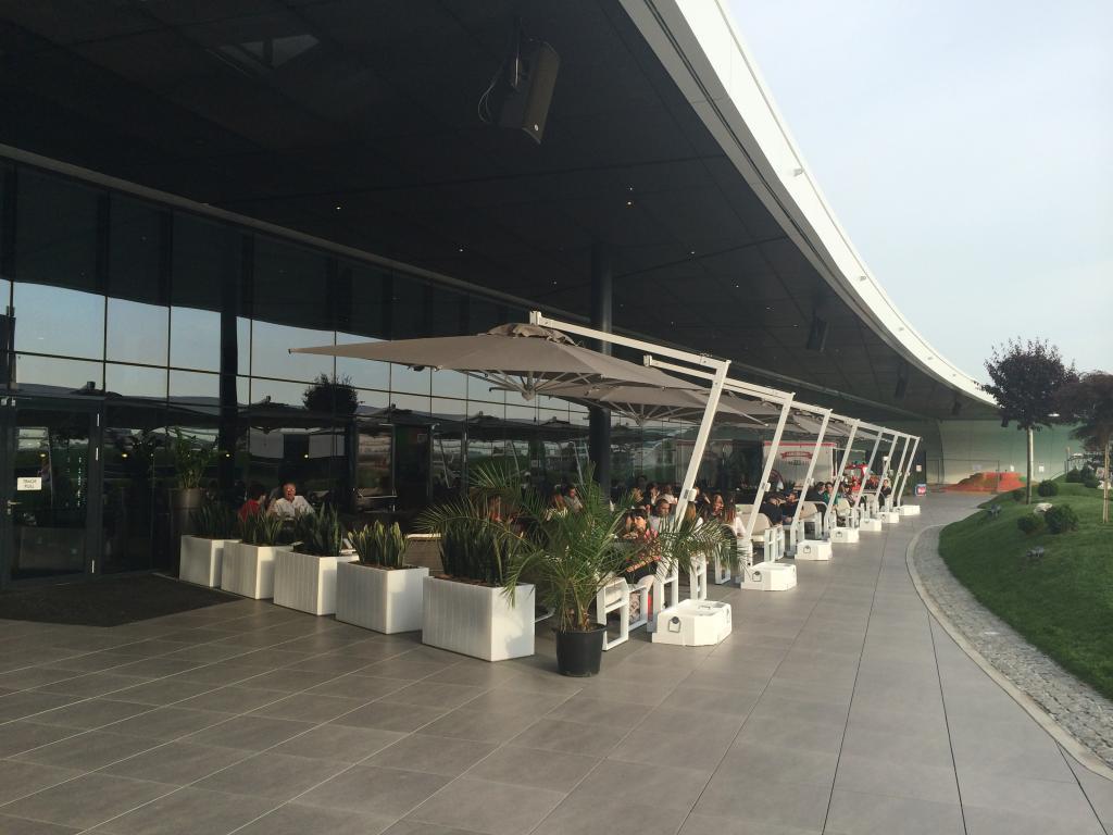 Parasol villa design Rimini Braccio SCOLARO