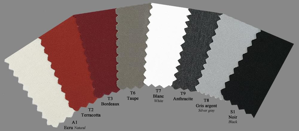 Giant sunshade central pole Capri Dark or Starwhite SCOLARO